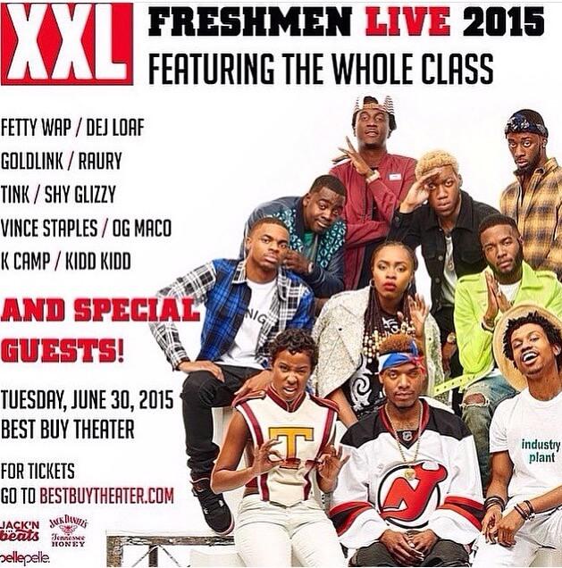 XXL Freshman LIVE NY