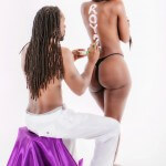 Melo Kan and Bria Myles 2
