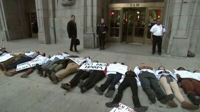 Laquan McDonald Protesters Call for Mayor's Resignation