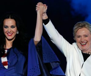Hillary Clinton Makes Surprise Appearance at UNICEF Gala to Honor Katy Perry