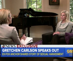 "Gretchen Carlson on Not Judging Women Who Wait to Make Sexual Harassment Allegations: ""Look at How We React"""