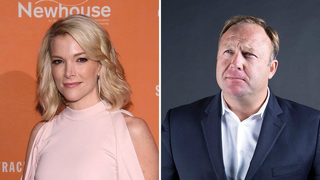 Alex Jones Releases Megyn Kelly Audio Online Ahead of NBC Broadcast