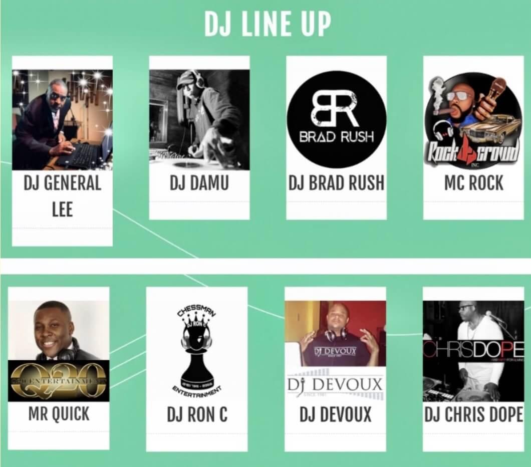 Pip's Los Cabos Getaway 2022 DJ Lineup
